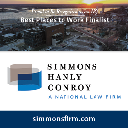 Simmons Hanly Conroy Best Places Digital ad