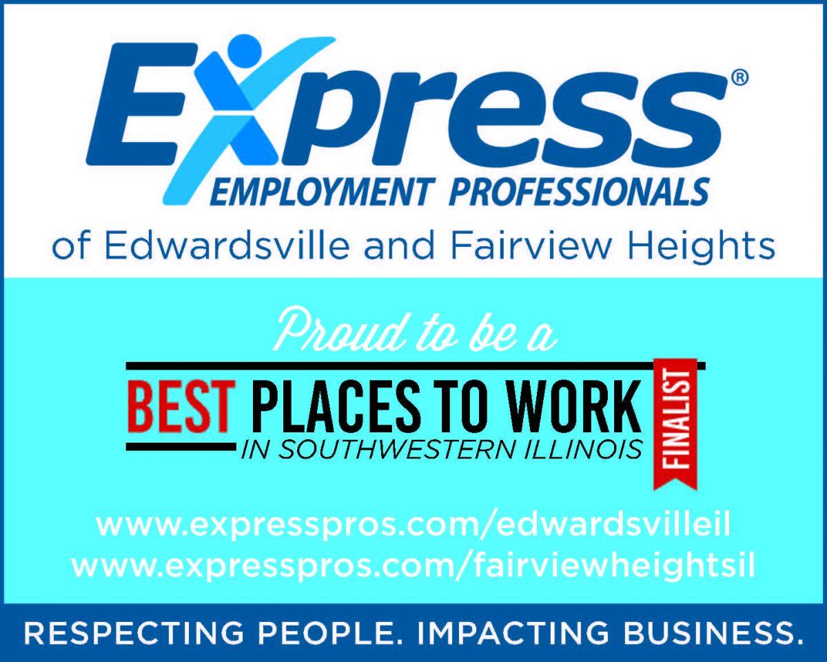 Express Employment print ad
