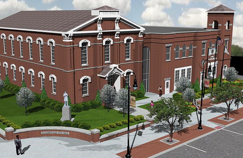 P01 collinsville city hall