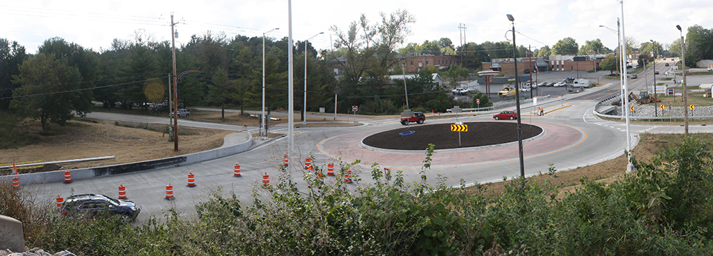 Horner-Shifrin-south-roundabout